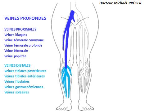 veine superficielle jambe