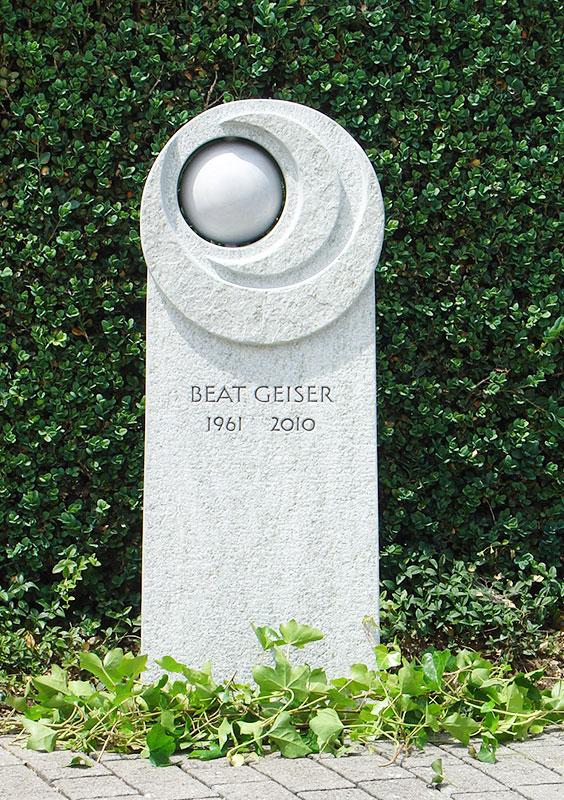 Grabzeichen Geiser