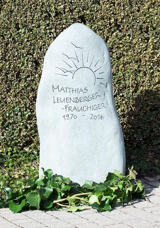 Grabzeichen Leuenberger