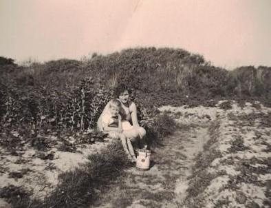 Garten zur Selbstversorgung in den Dünen