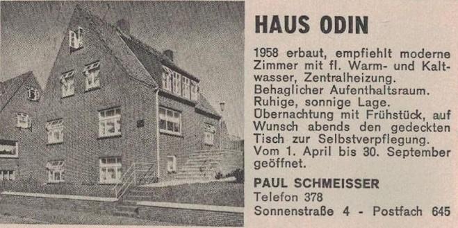 Anzeige von 1962