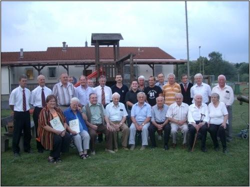 60 Jahre SV Distelhausen, Ehrengäste, Ehrenmitglieder