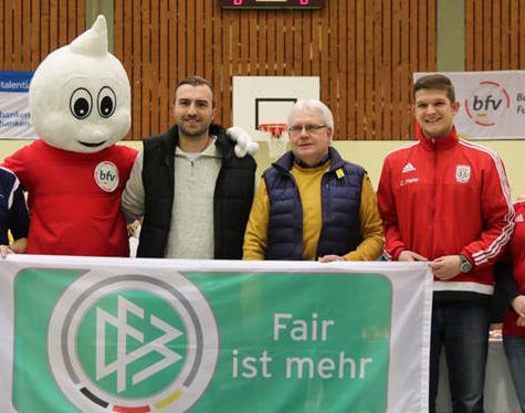 Dominik Riues vom SV Distelhausen als fairer Sportsmann geehrt!