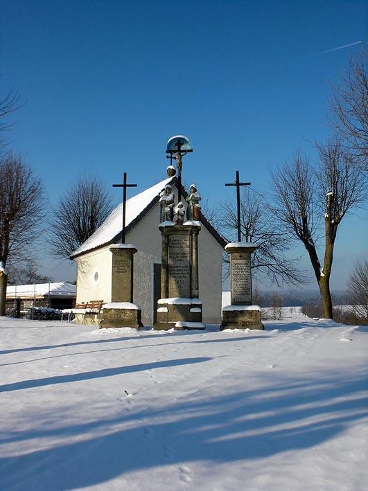 Die Kalvarienbergkapelle in Mähring (Bayern)