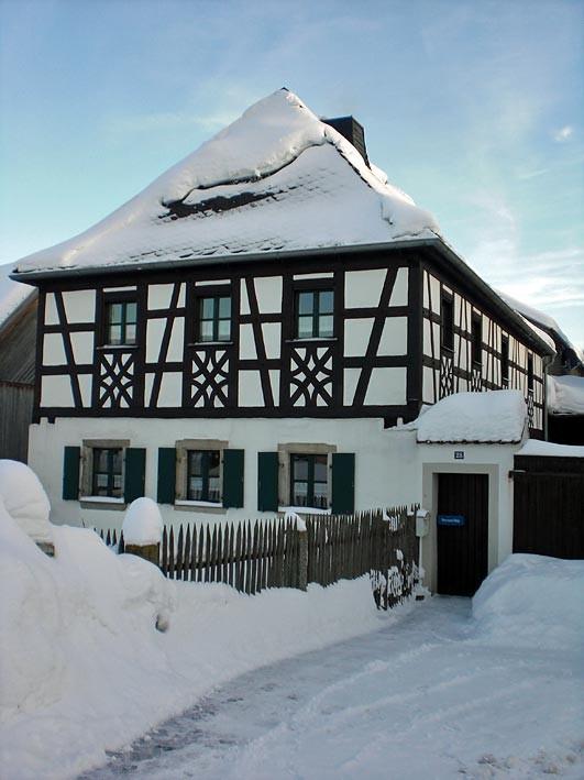 Fachwerkhaus in Mähring in der Oberpfalz