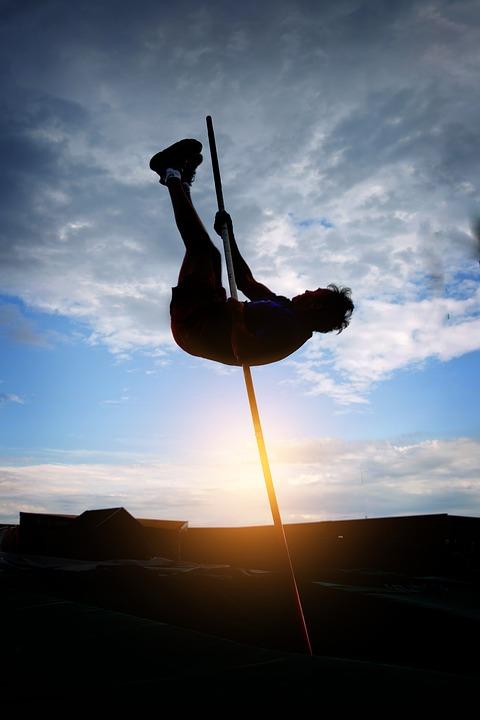 Leichtathletik, Stabhochsprung