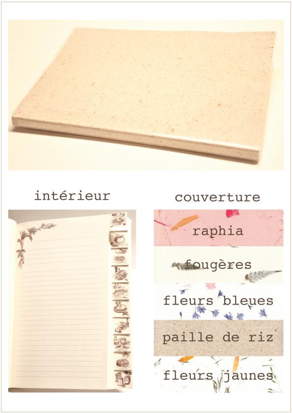 Carnets cahiers moulin vallis clausa - Livre de cuisine vierge ...