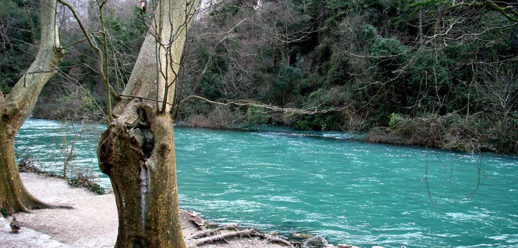 La Sorgue. Moulin de Vallis Clausa