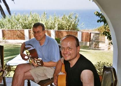 Flamenco-Seminar in Conil im Juli 2004