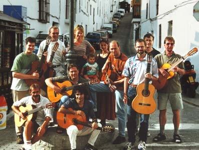 Flamenco-Seminar in Vejer de la Frontera im Oktober 2000