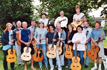 Flamenco-Workshop in Burbach im August 2001