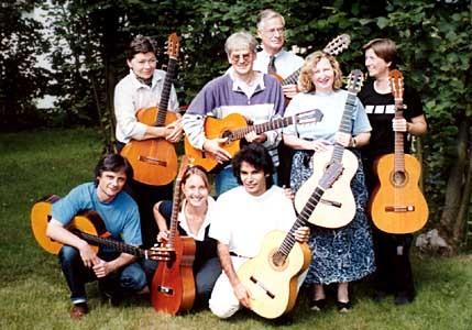 Flamenco-Workshop in Burbach im August 2000