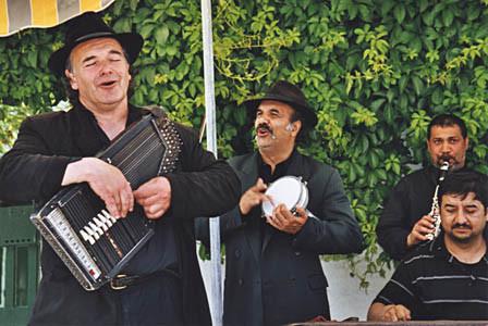 ... und wieder Strassenmusiker...