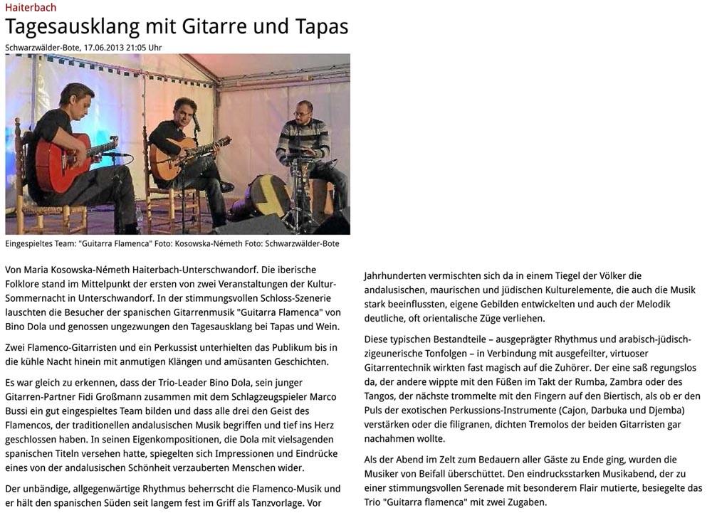 Haiterbach (Schwarzwälder Bote, 17.06.2013