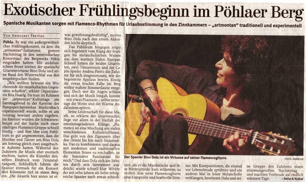 Aue-Schwarzenberg (Freie Presse Schwarzenberg, 03.04.2006)