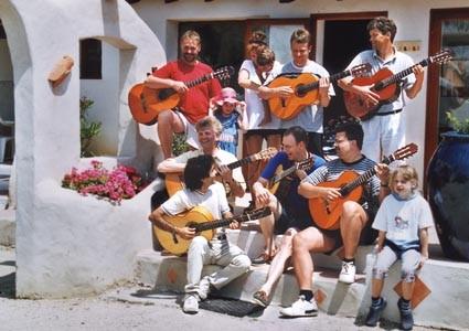 Flamenco-Seminar in der Camargue im Mai 2001