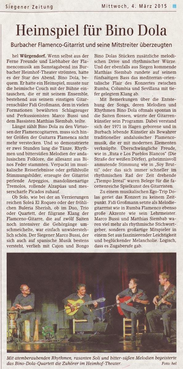 Burbach (Siegener Zeitung, 04.03.2015)
