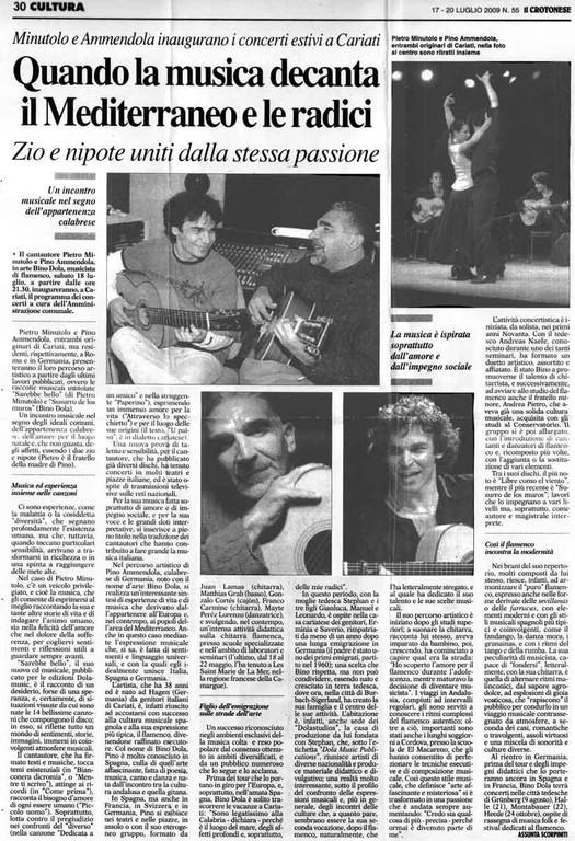 Italien (Il Crotonese, 20.07.2009)