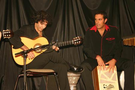 Bino Dola + Andrea Pietro live in Halle/Westf. im September 2005