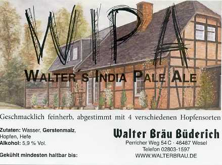 Walter's India Pale Ale