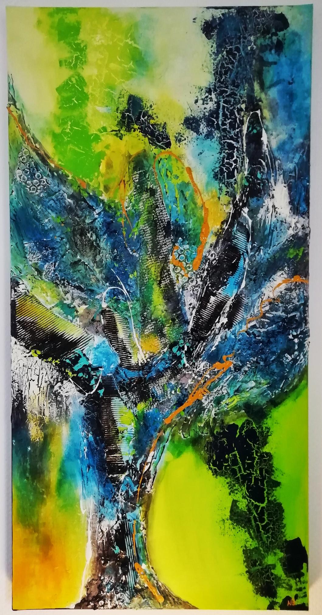 Baum des Lebens (50x100x4) - VERKAUFT