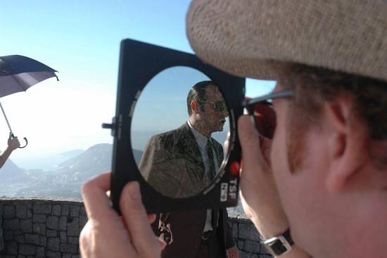 Guillaume Schiffman sur le tournage d'OSS117