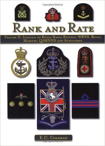 Rank & Rates - Royal Navy, WRNS