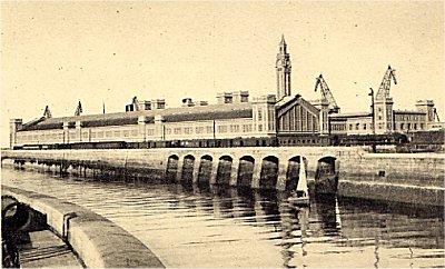 Gare Transatlantique en 1933
