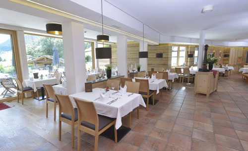 Das Restaurant im Naturhotel Lärchenhof