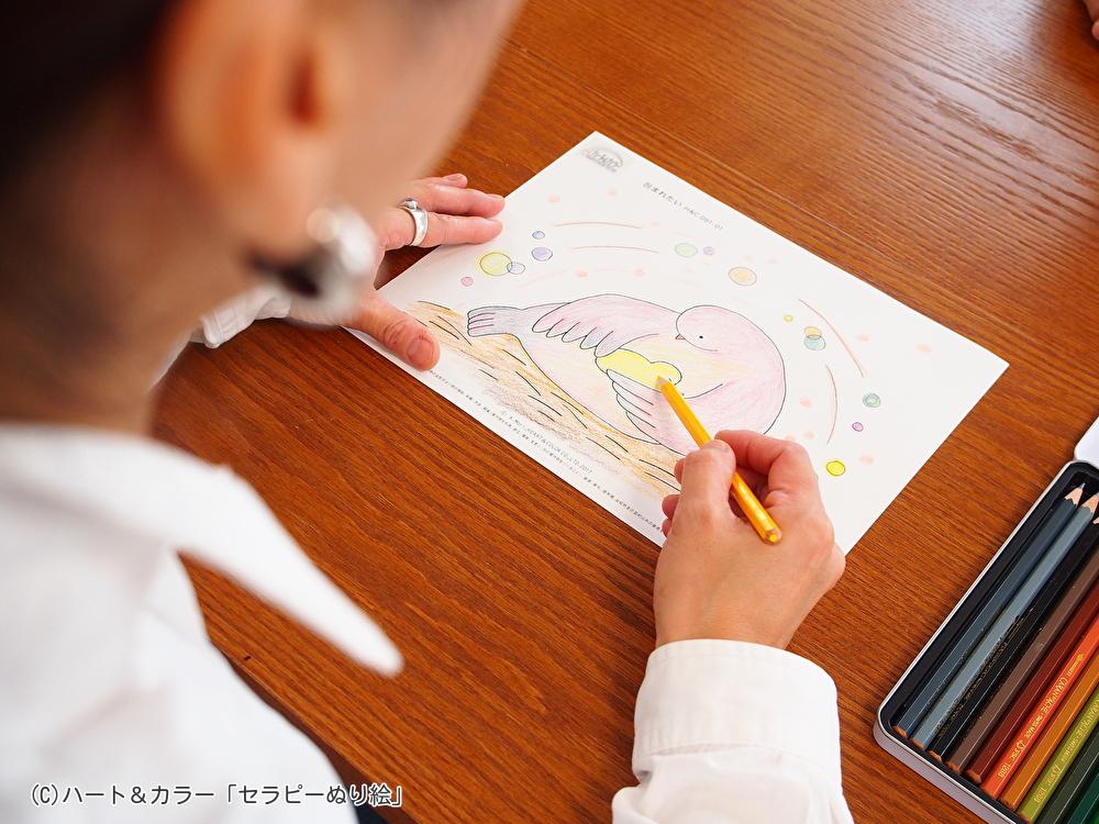 ぬり絵アートセラピー対面セッション再開のお知らせのイメージ