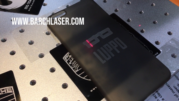 Silicon phone case engraving with laser machine