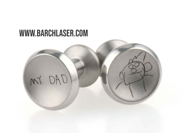 Concave engraving on metals, laser marking machines