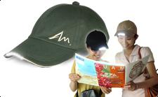 LEDライト付き帽子TERUBO