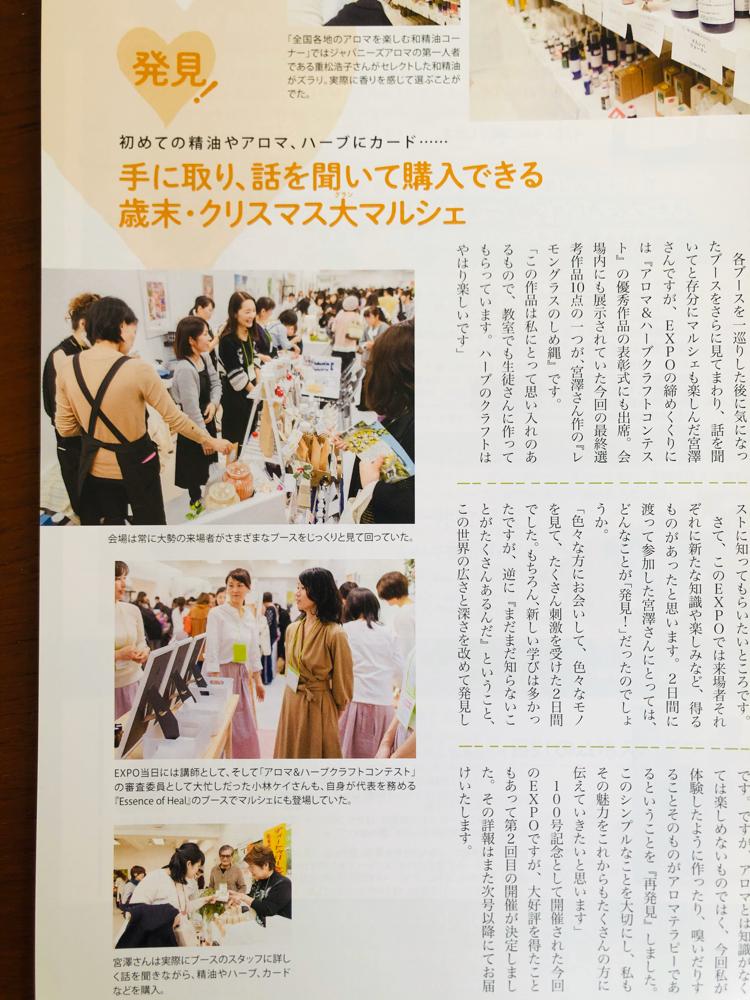 2019年2月号「日本中のセラピストが発見を得た2日間」レポート
