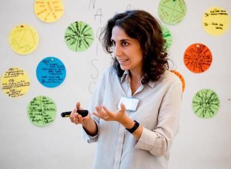 Dr. Luisa Conti: Referentin für Inklusion, Fokus auf interkulturelle Bildung und Dialog, Trainerin für Italien und Lateinamerika/ z.Z. in Leipzig, Berlin