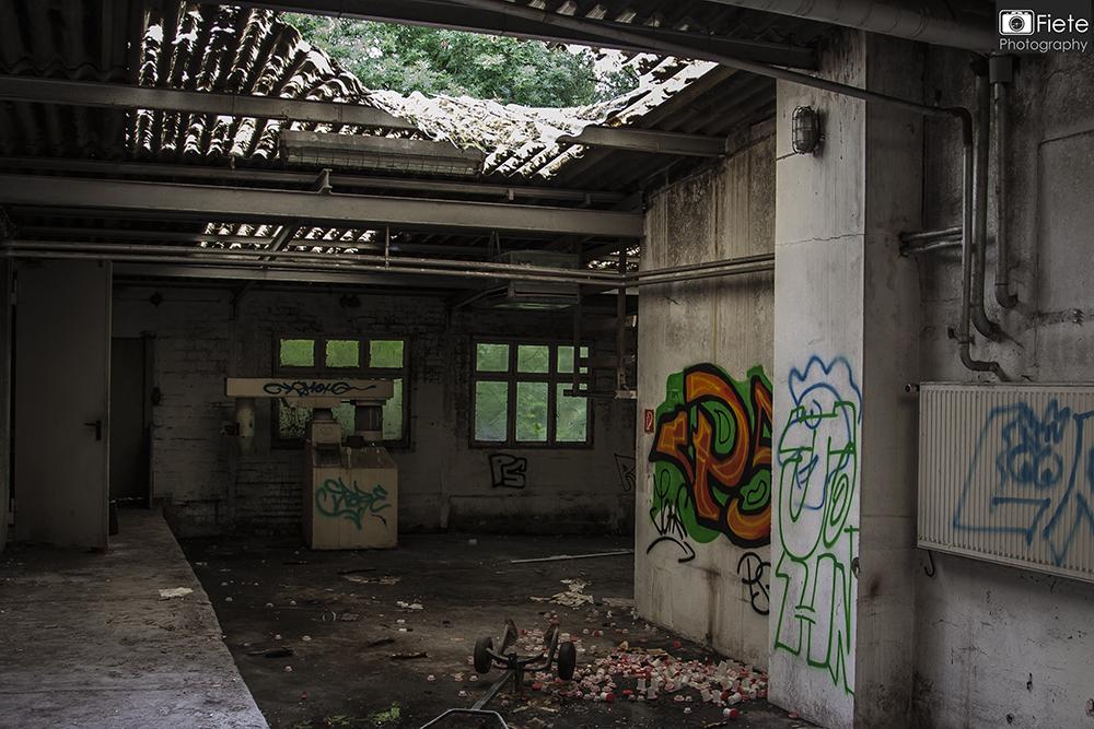 Lost Place Alte Lackfabrik in Hamburg - One shot, one pic!