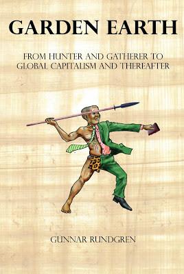 英国版は、狩猟採集で一日4時間だけ働いていた人類が、いまはスーツに身を固め四六時中忙しいビジネスマンに様変わりの図。