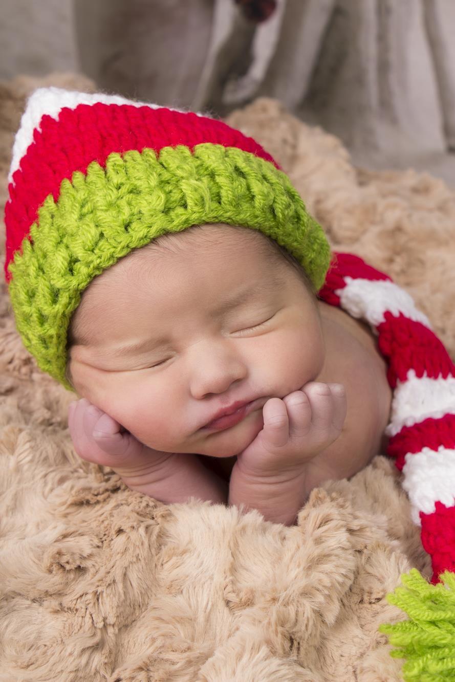 Fotógrafa Sonia Menéndez con Newborn