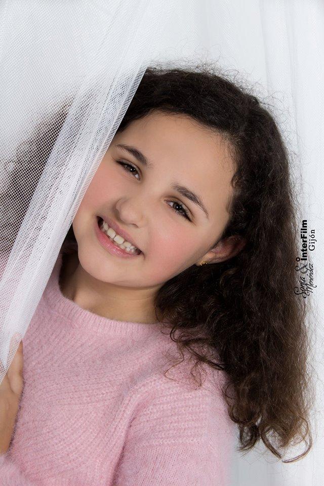 Ángela modelo de fotografia en Interfilm