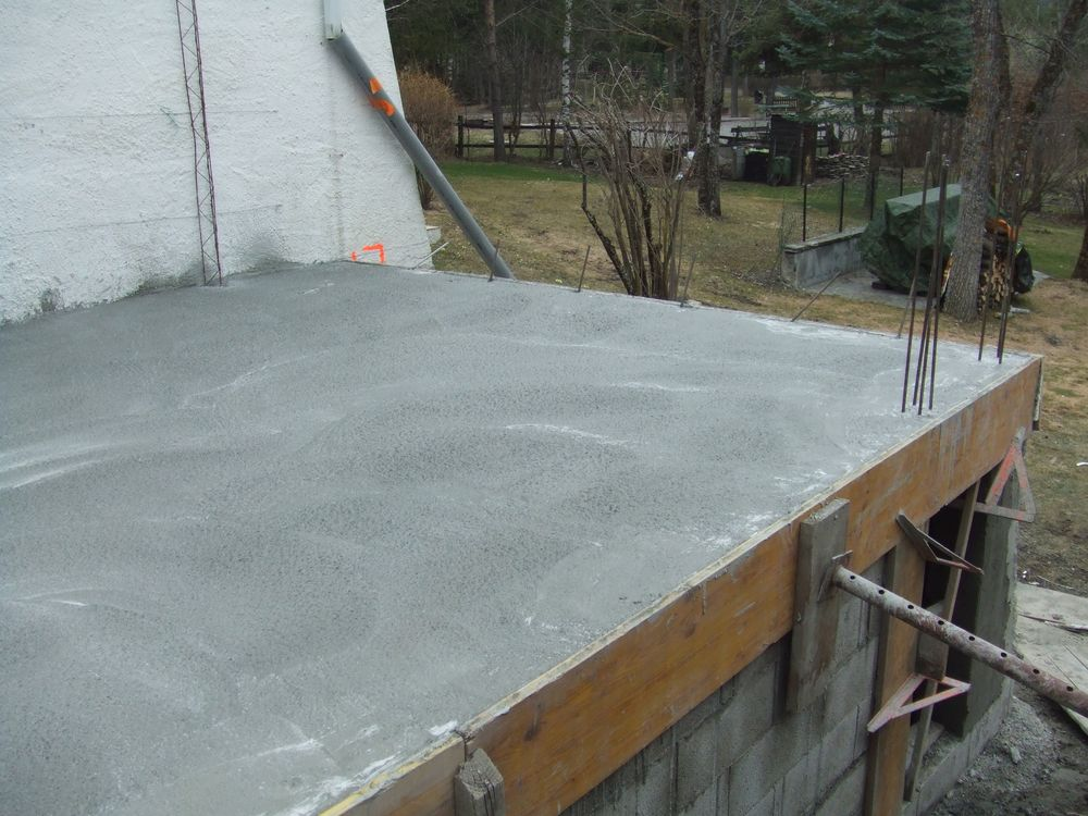 Dalle en beton