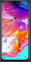 Samsung Galaxy A70 Smartphone mit Allnet Flat