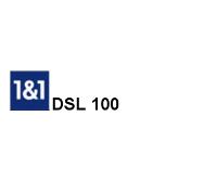DSL 100 der 1 & 1 VDSL Tarif für den DSL 100000 Internetanschluss