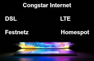 Günstiges DSL Internet von Congstar - per Festnetz oder LTE Homespot zum Internetanschluss