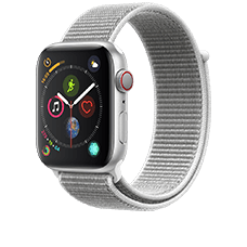 Smartwatch Apple Watch S4 LTE Loop mit SIM Vertrag von o2