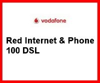 Red Internet  & Phone DSL 100