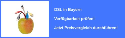 VDSL in Bayern Verfügbarkeit prüfen und Preisvergleich durchführen