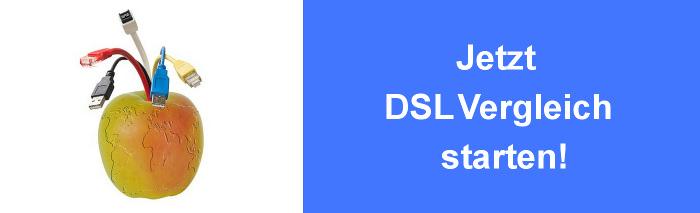 DSL Preisvergleich mit Vergleich vieler Internet Anbieter
