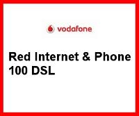 Internet Flat mit 100 MBit/s von Vodafone