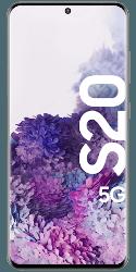 Samsung Galaxy S20 5G LTE Smartphone mit Handytarif