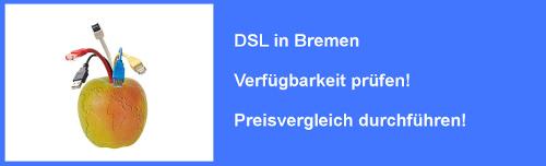 VDSL in Bremen - Preisvergleich und Verfügbarkeit für Internet Anschluss prüfen